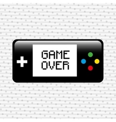 Video game icon design vector