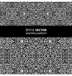 black-white pattern 1 vector image vector image