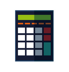 Calculator investigate research rates accountant vector