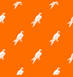Falcon pattern seamless vector