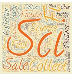 How to Find Sci Fi Collectibles Available For Sale vector image