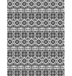 Tribal ethnic seamless pattern with geometric vector