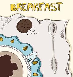 Breakfastt vector image