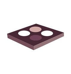 Eye shadow vector