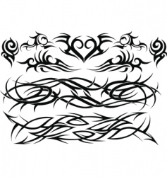 tattoo art vector image