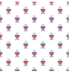 Drums pattern seamless vector