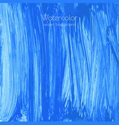 Turquoise blue indigo watercolor texture vector