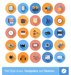Device Icons vector image