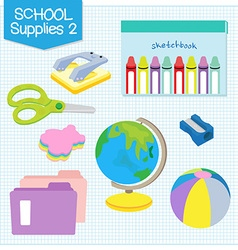School supplies2 vector