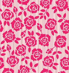 Retro floral seamless pattern roses vector