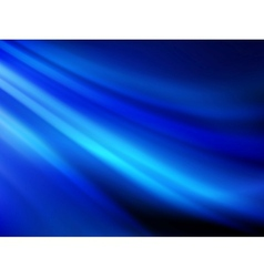 Abstract blue wave or smoke texture EPS 10 vector image vector image