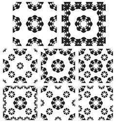 Geometric textures vector image