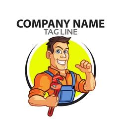 Plumber logo vector