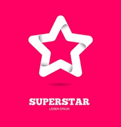 Star logo Star icon Leader boss star winner vector image