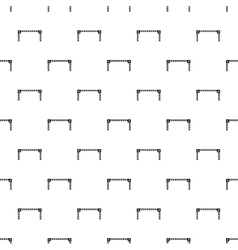 Car barrier pattern simple style vector