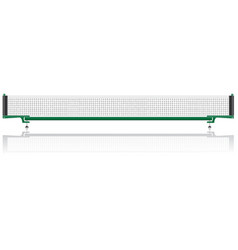 Net for table tennis ping pong vector