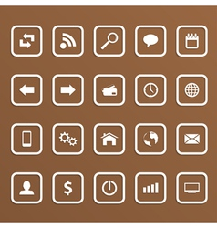 Web icons 2 vector