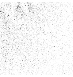 Grainy texture on a white square vector