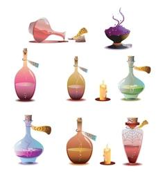 Halloween potions vector