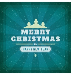 Christmas background image vector