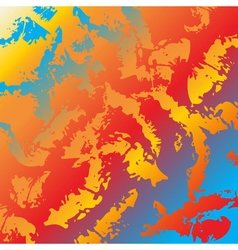 Abstract background colors rainbow vector