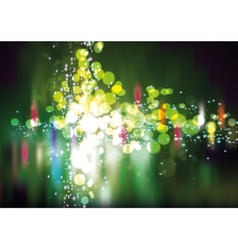 Colorful Transparent Lights vector image vector image