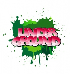 graffiti background vector image vector image
