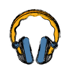 Headphone icon image vector