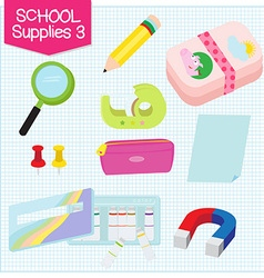 School supplies3 vector