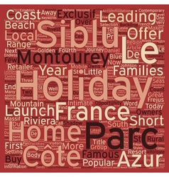Siblu makes cote d azur affordale for holiday home vector