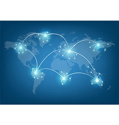 World network communication vector