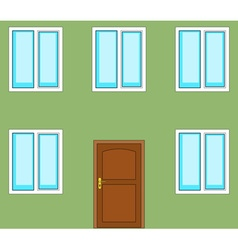 Door and windows vector