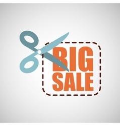 Big sale offer discount commerce vector