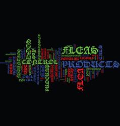 Flea control text background word cloud concept vector