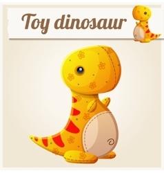 Toy dinosaur 6 Cartoon vector image vector image