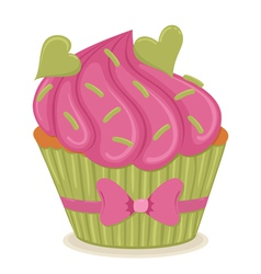 cupcake01 vector image