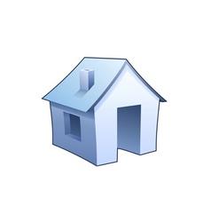 homepage symbol vector image