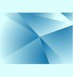 Blue abstract concept polygonal tech background vector