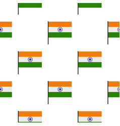Indian flag pattern seamless vector
