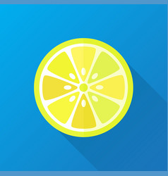 Lemon flat lemon geometrical vector
