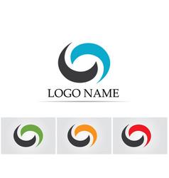Letter c logo template design vector