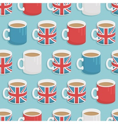 uk mugs vector image vector image