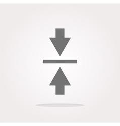 Mouse cursor sign icon Pointer symbol Modern UI vector image