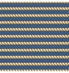 Marine ropes striped seamless background vector