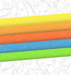 Colorful business card abstract background vector image