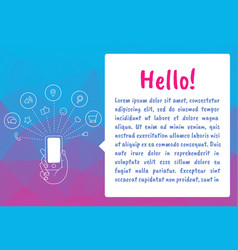 Cloud technology and service for social networking vector