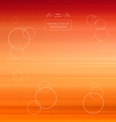 Abstract Blurred Orange Background vector image