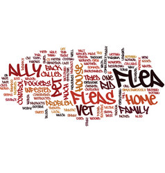 Flea control with cats and dogs text background vector
