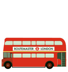 routemaster vector image vector image
