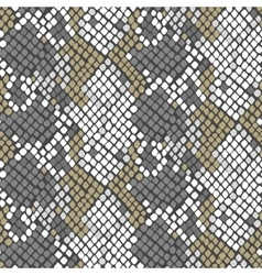 Serpent skin artificial seamless texture vector